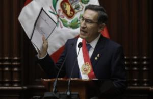 vizcarra pide elecciones