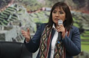 ministra maria jara indica enorme potencial turístico del cusco