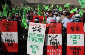 Los líderes de la protesta del valle de Tambo determinaron que continuaron movilizándose, ya que, quieren la total cancelación del proyecto Tía María