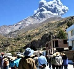 Otorgarán 250 viviendas temporales a damnificados de erupción
