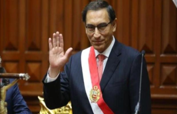 Presidente Martín Vizcarra se reunirá con 5 bancadas por adelanto de elecciones