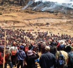 Dirigentes de Chumbivilcas acudirán a instancias internacionales para derogar el decreto