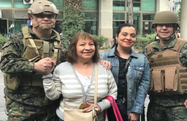 El ejército de Chile levanta el toque de queda tras una semana
