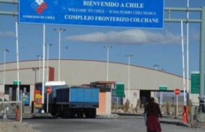 Por la violencia en Chile, el Gobierno reforzó la seguridad en la frontera