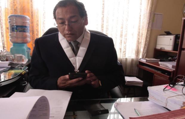 Juez fue suspendido de manera preventiva de todo cargo del Poder Judicial