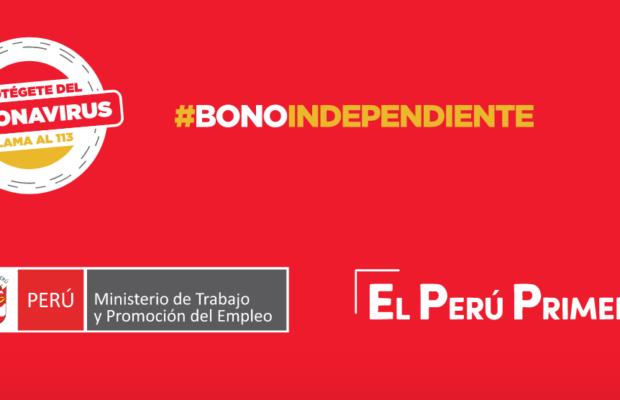 Bono Independiente 380 soles