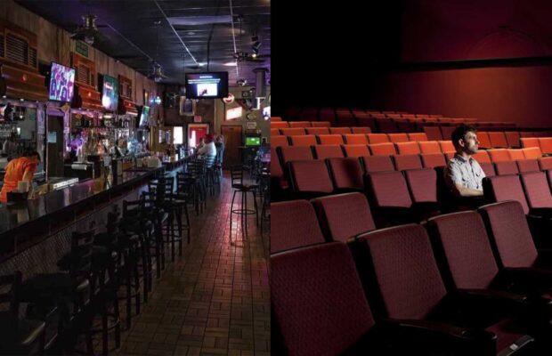 Cines y bares aún no podrán abrir