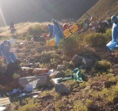 Varios heridos en accidente Tarata - Tacna