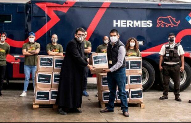 Empresa Hermes se suma a recolección de alimentos