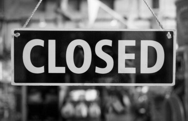 cierre de empresas por coronavirus