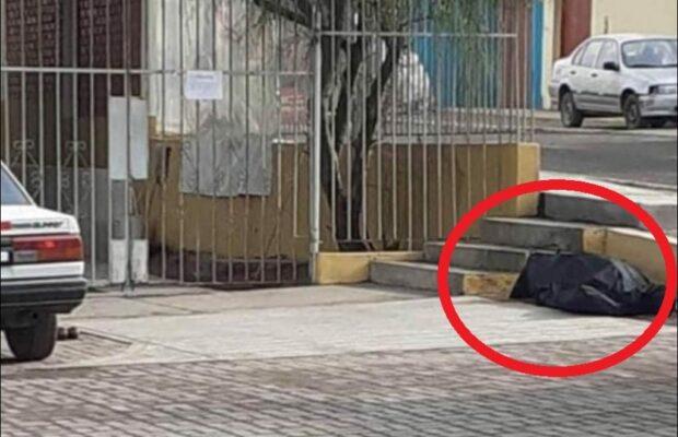 Dejan cadáver en las afueras del Centro de Salud Alto Inclán