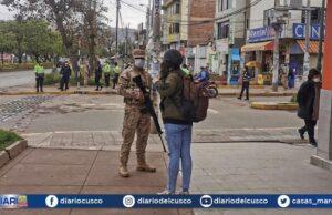 Las Fuerzas Armadas permanecerán en las calles