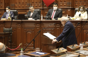 Congreso de la República niega voto de confianza