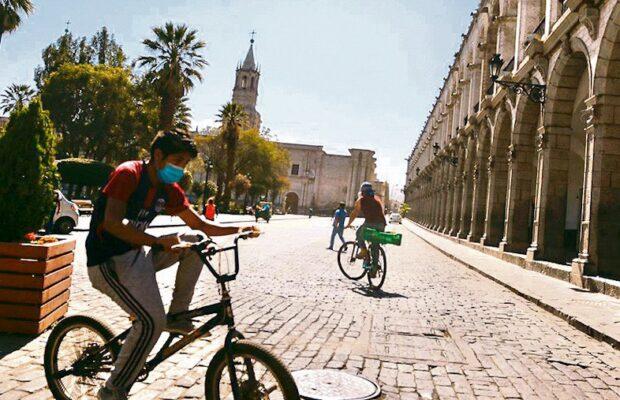Proyecto de ciclovía Arequipa