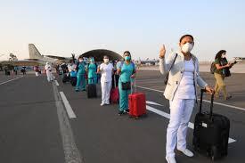 Médicos del seguro social llegaron al Cusco