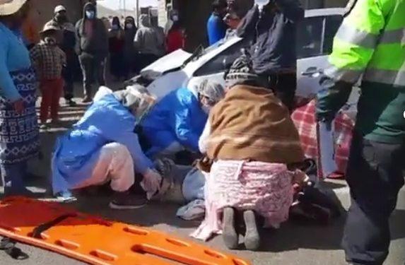 Policía hiere a dos menores en accidente de tránsito