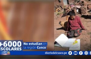 escolares no estudian cusco