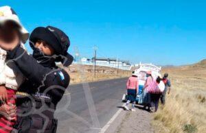 Menor corrió peligro en la carretera de El Callao