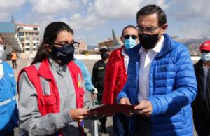 Presidente entrega hospitales modulares Cusco