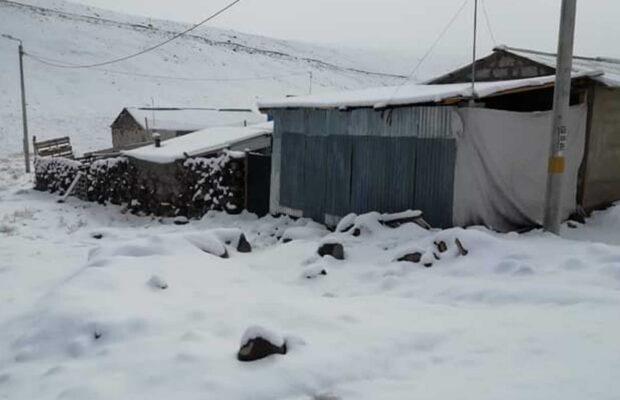 Medirán afectación por nevadas en Puno