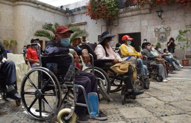 Población con discapacidad arequipa