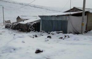 Fuerte nevada en Vilavila