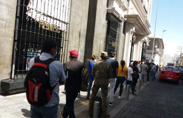 Arequipeños podrán recoger DNI