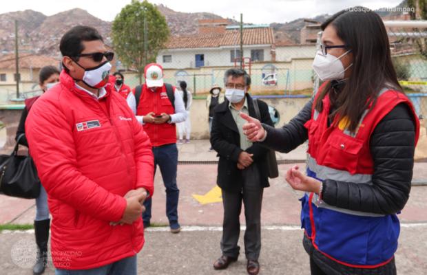 Viceministro de producción Cusco
