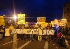 Cusqueños celebraron solución transitoria de la crisis política