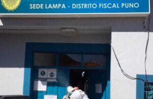 La Fiscalía Provincial Penal de Lampa dictó prisión preventiva para una mujer que envenenó a su hijo.