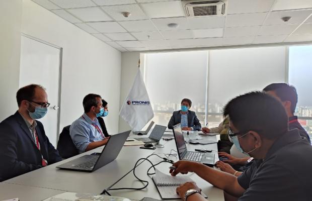 negociaciones para construcción del hospital A. lorena