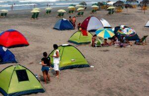 En playas de Camana no se permitirá acampar