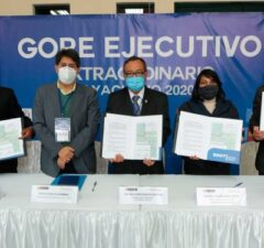 Gobernadores del sur firman tratado