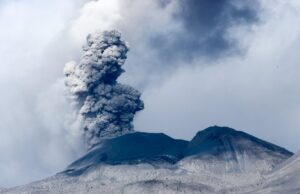 Se registraron explosiones del Volcán Sabancaya