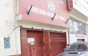 Gobierno de Puno en crisis