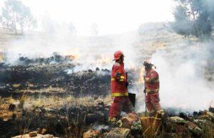 Aumentan incendios en Puno