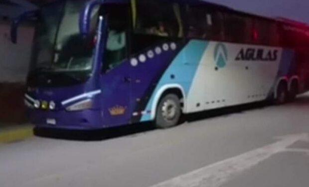 asaltan bus