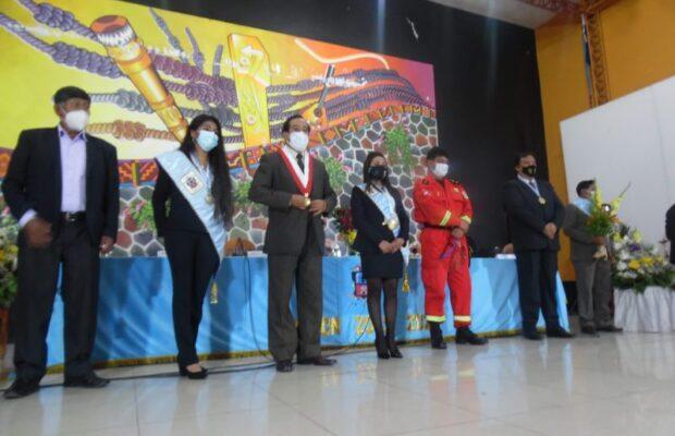 Canchis juramentó alcaldesa