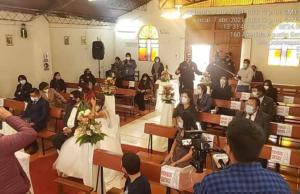 Intervienen boda en la capilla de Dolorespata