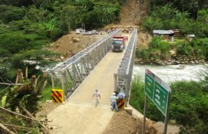 Puentes modulares en provincias cusqueñas