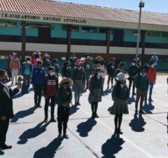 Colegios de Cusco iniciaron clases semipresenciales