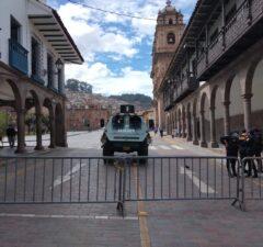 Reclamaron cusqueños por cierre de la Plaza de Armas