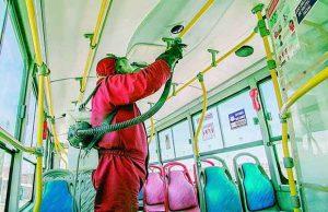 Solicitan presupuesto para desinfección de buses SIT