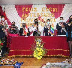 Vacancia de alcaldesa de Chumbivilcas es aprobada