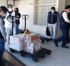 Dosis para vacunación de Arequipa llegaron