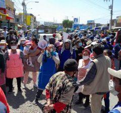 Comerciantes se oponen a cierre de centro de abastos