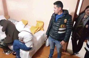 Prisión por trata de personas en Cusco