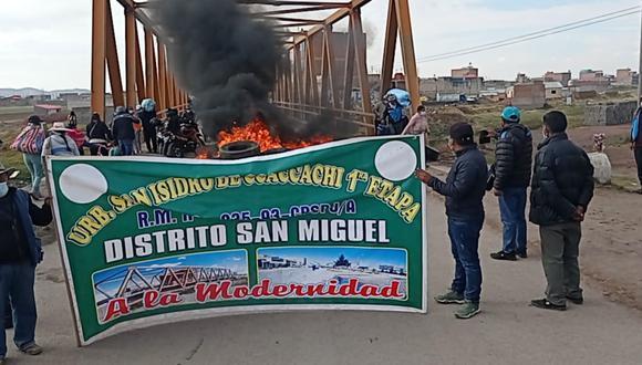 San Miguel se levanta contra el incremento del impuesto predial